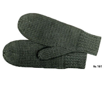 free knitting pattern for mens mittens on 2 needles