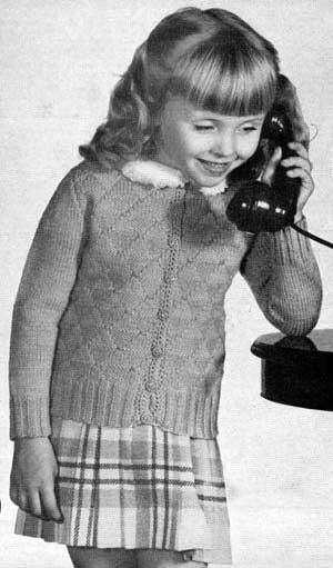 Girls Cardigan Sweater Pattern 400 Knitting Patterns