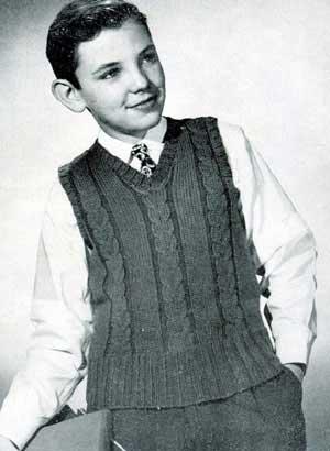 3219b96a3 Boy s Sleeveless Sweater Pattern  406
