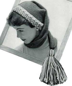 Knitted Stocking Cap  9aa2dab161c