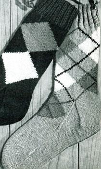 Argyle Socks | Knitting Patterns