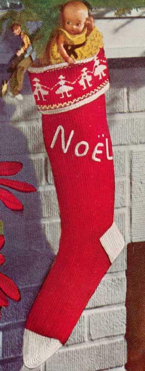 Knitting Christmas Stocking Pattern Free.Knitted Christmas Stocking Patterns For Real Christmas Feel