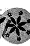 Round and Square Pot Holders pattern