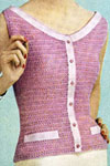 scoop neck crochet pattern