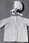 infants coat and bonnet pattern