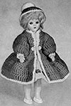 Coat and Hat Doll pattern