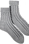 Girls Cable Socks pattern 607