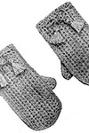Childs Crochet Mittens pattern