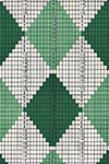 3 Color Diamond socks pattern