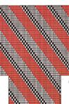 Diagonal Stripe No. 1 socks pattern