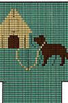 Dog House Socks pattern