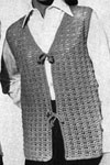 shell stitch vest pattern