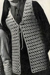 open stitch crocheted vest pattern