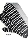 Striped Mittens pattern 5616