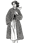 Knitted Coat #662 Pattern