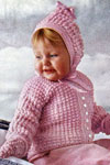 crocheted picot set pattern
