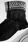Knitted Socks #2277 Pattern