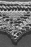 Knitted Lace Edging pattern