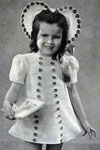 dress and bonnet pattern