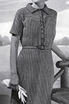 Crocheted Shirtwaist Dress pattern