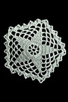 five point star doily pattern