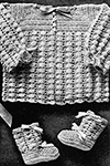 Infant's Crocheted Set Pattern