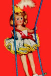 trapeze artist doll