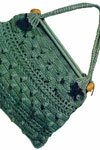 green knitting bag pattern