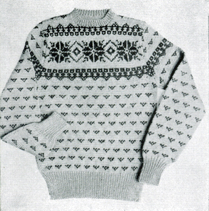 bc2ff1abf Ladies  Sweater Pattern  36