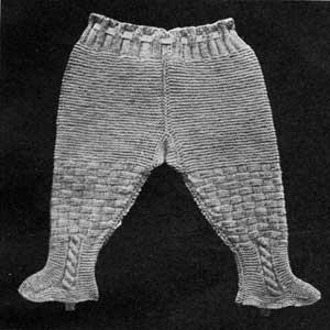 Legging Drawers | Knitting Patterns