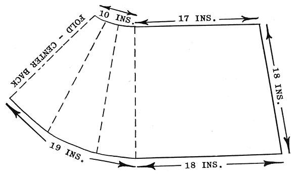 Angora Cape Stole Pattern Chart