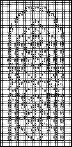 Mitten Pattern #501 chart