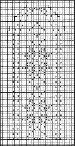 Mitten Pattern #505 chart