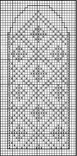 Mitten Pattern #506 chart