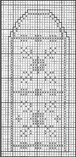 Mitten Pattern #507 chart