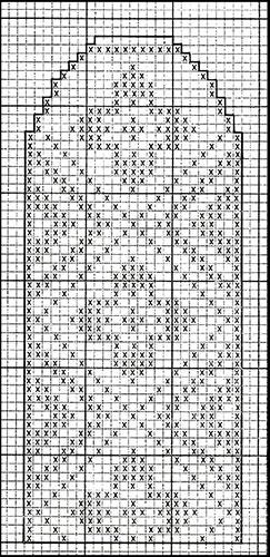 Mitten Pattern #508 chart