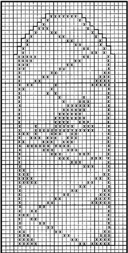 Mitten Pattern #511 chart