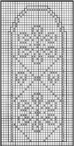 Mitten Pattern #512 chart