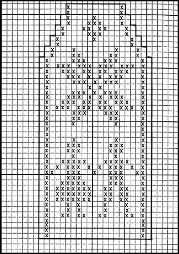 Mitten Pattern #513 chart