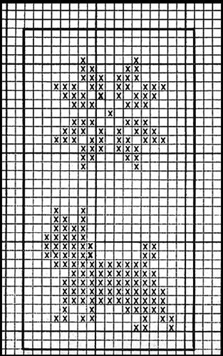 Mitten Pattern #515 chart