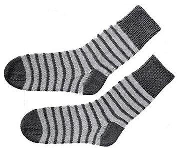 Childrens Socks Pattern, No. 614
