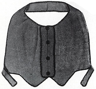 Knitted Vestee Pattern #834