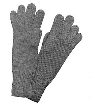 Ladies 2-Needle Gloves Pattern #609