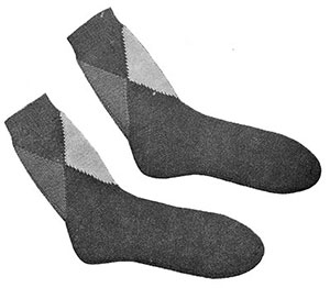 Mens Slack Socks Patterns #610