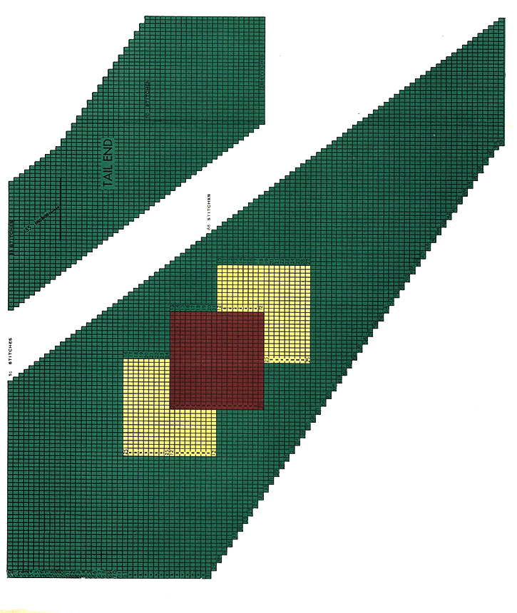 Diamond Overlay Necktie Pattern #5004T