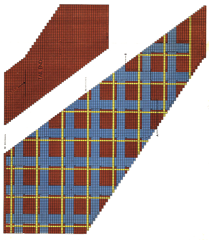 3-Color Plaid Necktie Pattern #5014T