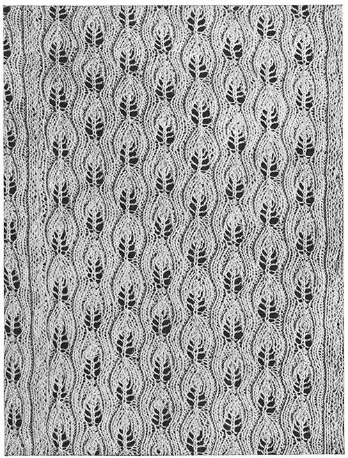 Arcady Bedspread Pattern #680 swatch