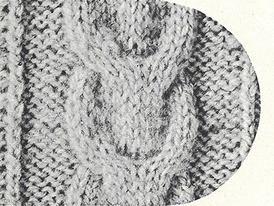 Clarel Sweater Pattern #1104