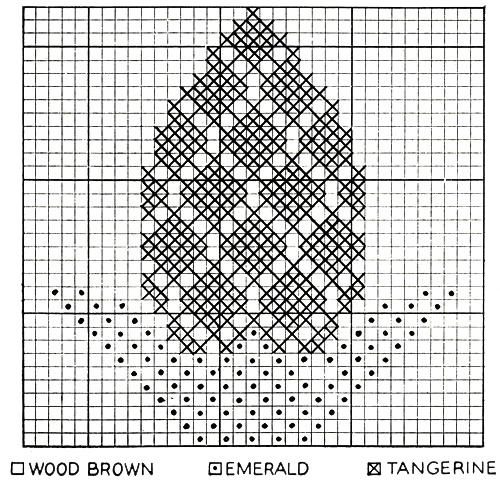 Pineapple Afghan Pattern chart