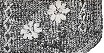 Tyrol Vest Pattern #1119